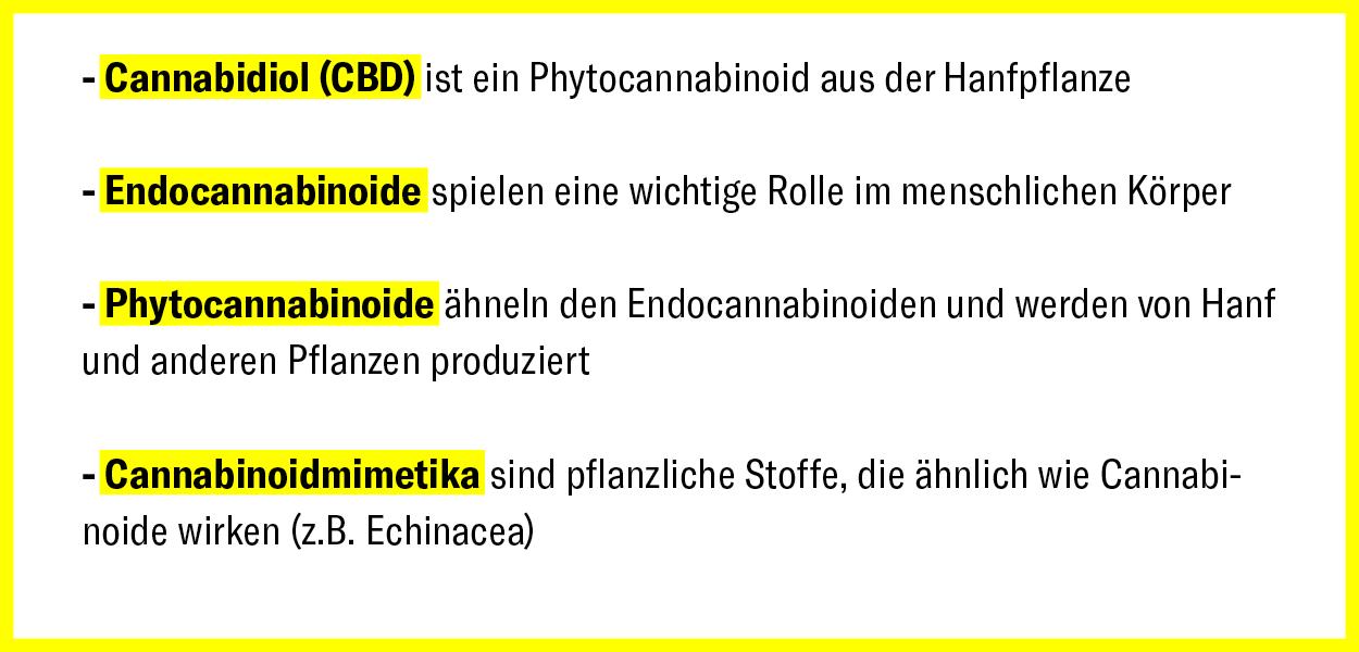CBD und Cannabinoide