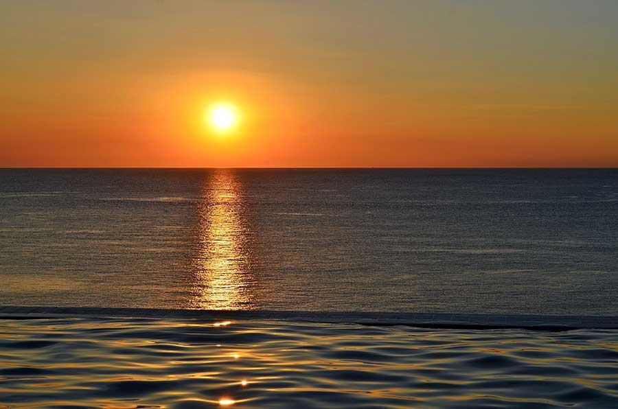 Sonnenuntergang After Sun
